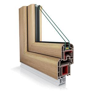 okno Vetrex VR70